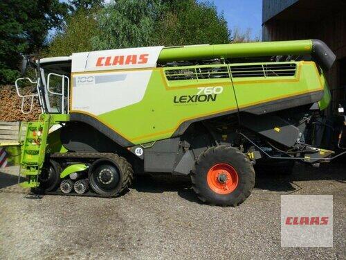 Claas Lexion 760 Terra Trac Year of Build 2014 Mengkofen