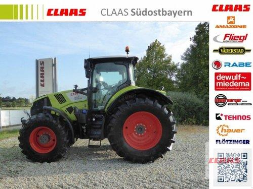 Claas Axion 830 CMATIC, Vorführmaschine