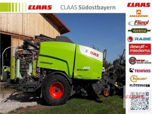 Claas Rollant 455 RC Uniwrap Baujahr 2012 Obersöchering