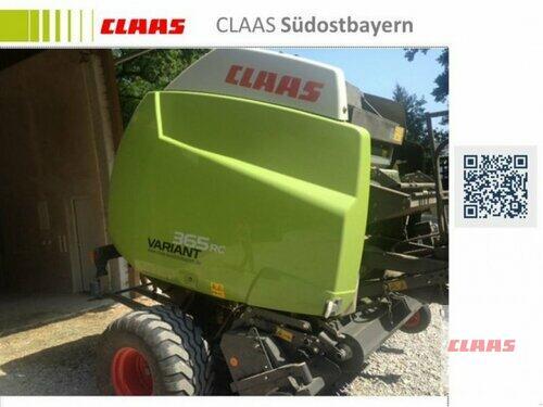 Claas Variant 365 Rc Pro Año de fabricación 2012 Obersöchering
