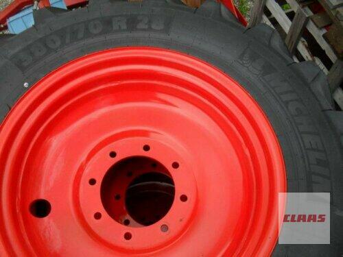 Michelin 380/70 R28 + 480/70 R38 MICHEL