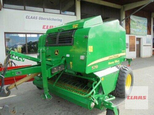 John Deere 578 Premium Baujahr 2007 Obersöchering
