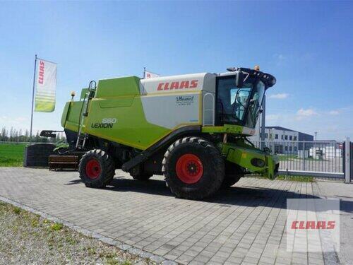 Claas Lexion 660 + C750 Byggeår 2014 Hutthurm