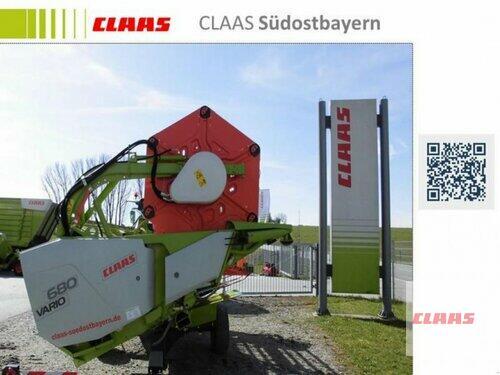 Claas VARIO 680 + TW _VORFÜHRMASCHIN