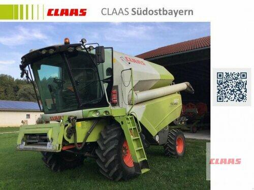 Claas TUCANO 320 mit C 450 + Transportwagen