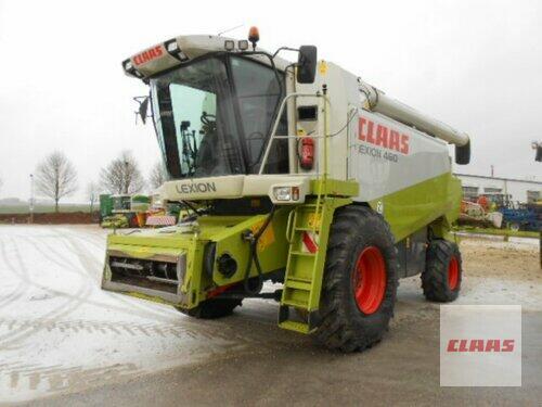 Claas Lexion 460 + SW V 660