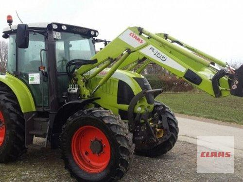 Claas Ares 557 Frontlaster Årsmodell 2008