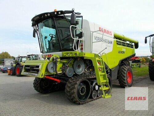 Claas Lexion 770 Terra Trac Année de construction 2015 Hartmannsdorf