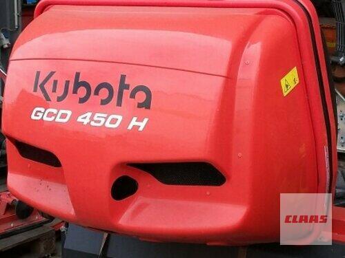 Rasenmäher Kubota - Mähausrüstung BX 2350, Zwischenachsmähwerk RCK 54 und Gra