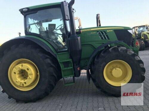 John Deere 6215R Bouwjaar 2016 Hartmannsdorf