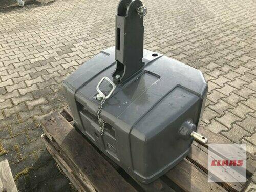 John Deere Frontgewicht 900 Kg John Jeere Rok produkcji 2016 Hartmannsdorf