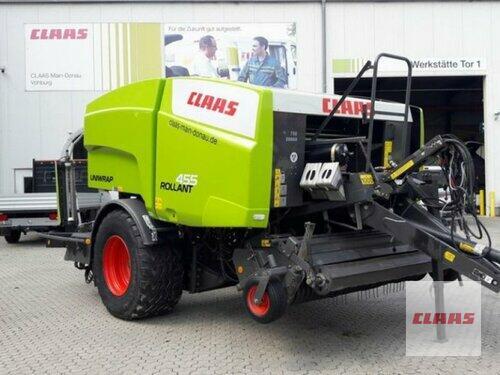 Claas Rollant 455 RC Uniwrap Baujahr 2014 Vohburg