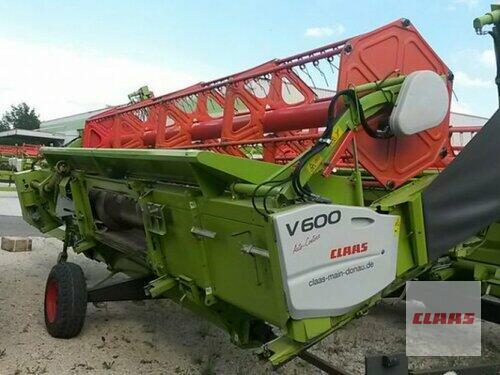 Claas Sw V600 + Tw anno di costruzione 2013 Vohburg