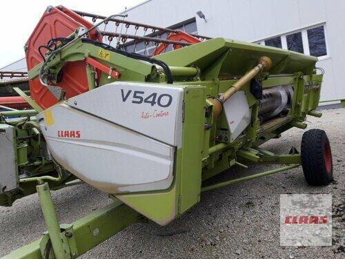 Claas V 540 Рік виробництва 2006 Vohburg