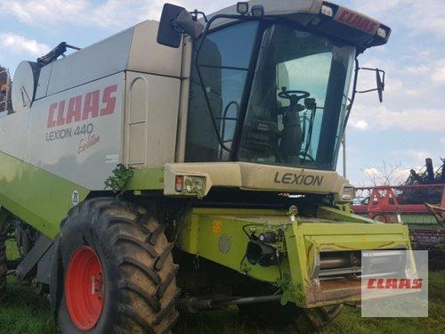 Claas Lexion 450 Evolution, Brandschaden Год выпуска 2003 Vohburg