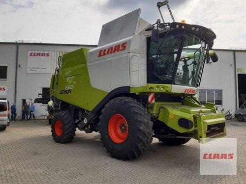 Claas Lexion 660 Рік виробництва 2016 Vohburg