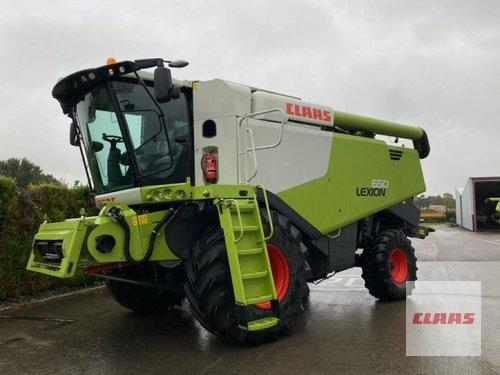 Claas Lexion 650 Mit V 680 Und Tw Baujahr 2019 Vohburg