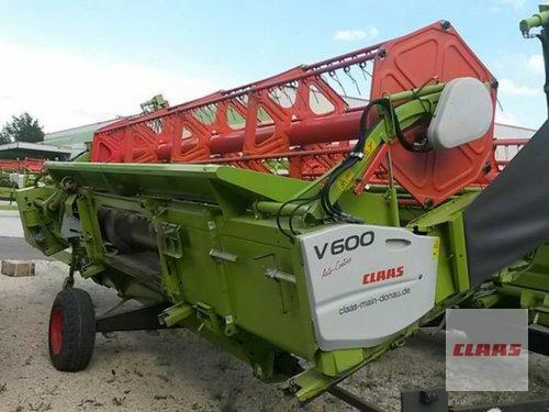 Claas Sw V 600 + Tw Byggeår 2013 Vohburg