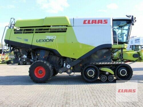 Claas Lexion 760 Terra Trac Bouwjaar 2017 Vohburg