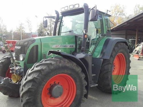 Fendt 818 Vario Year of Build 2002 4WD