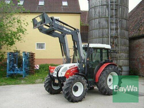 Steyr 370 Kompakt anno di costruzione 2007 4 Trazione Ruote