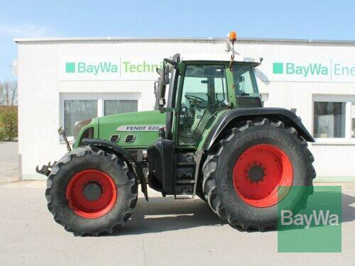 Fendt 820 Vario TMS Año de fabricación 2008 Accionamiento 4 ruedas