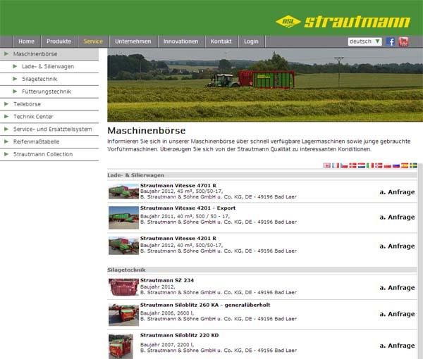 Strautmann Maschinenb�rse